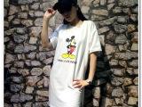 2015夏季新款韩版宽松短袖t恤女经典学院风全棉圆领打底衫上衣潮