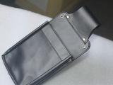 专业皮具厂家  提供商务休闲黑色皮革包  手机包  加工定制LO