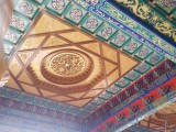 寺庙吊顶古建禅堂天花殿堂装饰佛教寺庙吊顶彩绘天花佛堂装饰品