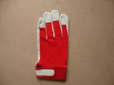 优质白色小猪皮手套,厂家直销,羊皮手套