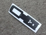 三菱翼神欧蓝德钥匙碳纤维保护贴 改装贴纸