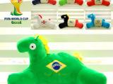 世界杯创意小马办公室U型枕颈枕 腰枕护腰靠垫抱枕