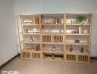 木多宝阁新中式储物柜 白蜡木玄关隔断博古架展示柜 茶叶柜实木