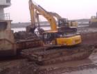 成都市邛崃市中国徐工215型水陆挖掘机租赁水上挖机出租