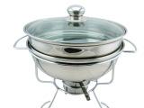 Chafing Dish厂家直销 双层不锈钢自助餐炉 二层家用酒