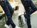 男士牛仔裤一件代发男新款牛仔裤男小脚修身弹力男裤小脚裤男潮