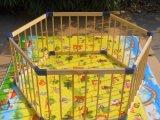 小六边木质儿童围栏