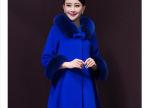 2014冬季新款羊绒大衣女  韩版修身显瘦中长款 女 外套