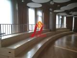 转角木质合唱舞台学校演出合唱台音乐教室合唱阶梯三层四层可定制