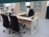 朝阳隔断办公桌 工作桌 办公台 文件柜 前台定做