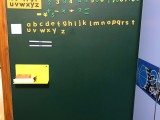 磁善家儿童DIY涂鸦宝宝画板无尘书写儿童房卧室磁性绿板墙贴