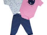 英国小木马正品男女宝宝婴儿童春夏季纯棉4件装童套装