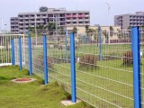 珠海市围栏网,桃型柱护栏网,边框护栏,公路护栏批发
