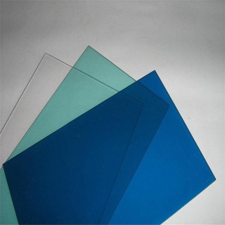 迪迈塑胶 pc颗粒板厂家直销 2-8mm透明蓝色等 十年质保