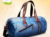 上海灵源箱包专业定制生产单肩双肩手提运动包 行李包 瑜伽包批发
