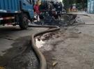 专业疏通,高压水车清理 专车吸粪 泥浆 油池 防水补漏工程