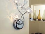 特价创意时尚简约现代 高档家居K9水晶壁灯休闲会所工程灯饰灯具