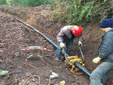 PE给水管 自来水管 灌溉用大口径PE管