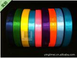 【主打】现货6分3/4英寸2cm单面缎带,涤纶色丁带 大码100