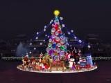 大型圣诞树生产厂家圣诞树批发灯饰画制作