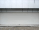 龙华铝合金双层烤漆电动卷闸门单层实心冲孔卷闸门