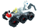 德国俐智LOZ  城市系列乐高式小颗粒塑料拼装积木玩具 月球车9