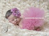 爆款欧美儿童摄影纱裙蓬蓬裙 婴儿兔兔裙 影楼拍照道具/粉红色