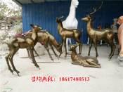 切面造型鹿雕塑厂