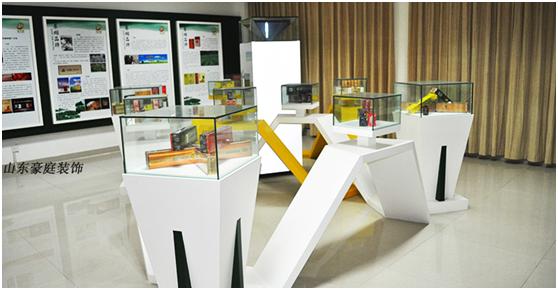济南装修公司 展厅装修设计案例