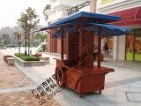 木质花车 售货车 可定做 户外家具