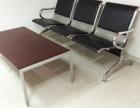 重庆家具机场椅等候车椅三人位排椅钢制银行连排椅子 标准3人位