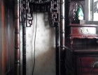 浦东新区老红木家具回收商店长期高价红木红木床红木桌
