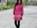 新款时尚修身休闲韩版妮子单排扣l女士风衣 风衣大衣 风衣