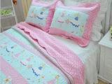 全棉绗缝被水洗衍缝空调夏被床盖床上用品二三四件套