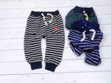 外贸童装原单童裤14春秋儿童长裤 1-3岁小童哈伦裤【细条纹】5