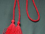 包装绳 礼品拉绳 吊球小绳 韩式窗帘绑带 流苏 厂家直销