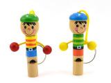 木制儿童玩具动物小口哨木制小哨