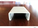 PVC挤出异型材  塑料U型条,U型包边条