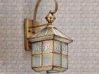 中山斯美乐特批户外壁灯 防水铜灯 全铜壁灯 欧式高档壁灯