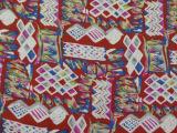 优质人棉面料 2014流行连衣裙印花布 外贸布料出口欧美 现货供