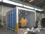 常州环保伸缩式大型工件喷漆房生产厂家 长宏