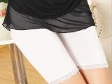 甜美女式安全裤 莫代尔五分裤 女夏蕾丝防走光安全打底裤 热销
