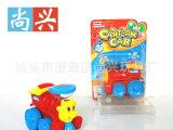 厂价批发可装糖玩具卡通拉线回力车小火车新