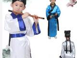 儿童少儿古装书童服诸葛亮汉服三字经弟子规古诗演出表演服装