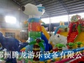 莆田涵江小孩子喜欢玩的充气蹦蹦床充气跳床充气气包大滑梯