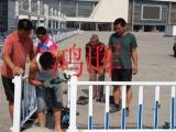 锌钢市政护栏网格结构简单 便于运输 安装