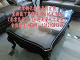 餐桌垫中田水晶板透明磨砂软质玻璃桌布隔热保护桌垫茶几桌布防水