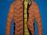 博纳罗蒂品牌男装2014冬季新款男式羽绒服批发 时尚休羽绒服 男