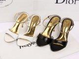 欧洲站14年夏季新款RC高档一字链羊皮外贸原单凉鞋微信款女鞋现货