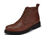 厂家直销 真皮马丁靴男真皮 时尚男靴  诚招分销一件代发